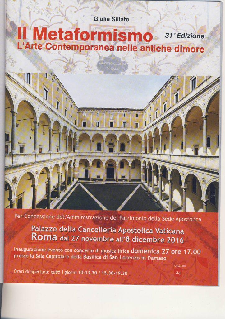 Metaformismo-L'Arte nelle antiche dimore-Roma-Italia (2016)