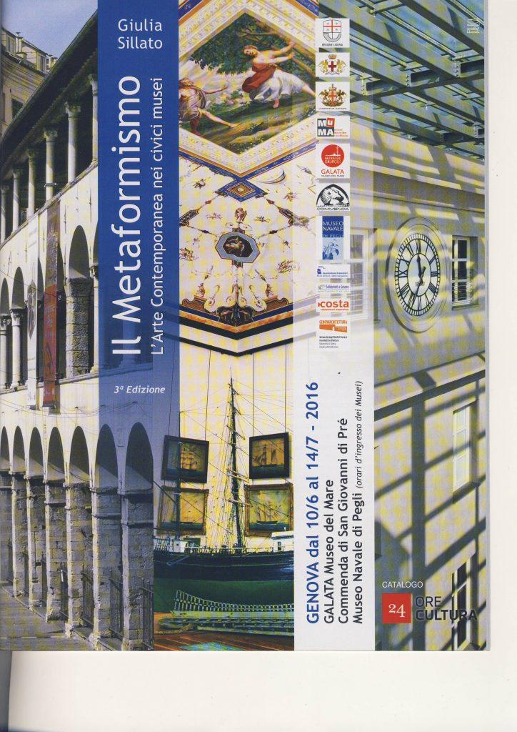 Metaformismo-Museo del mare-Genova-Italia (2016)