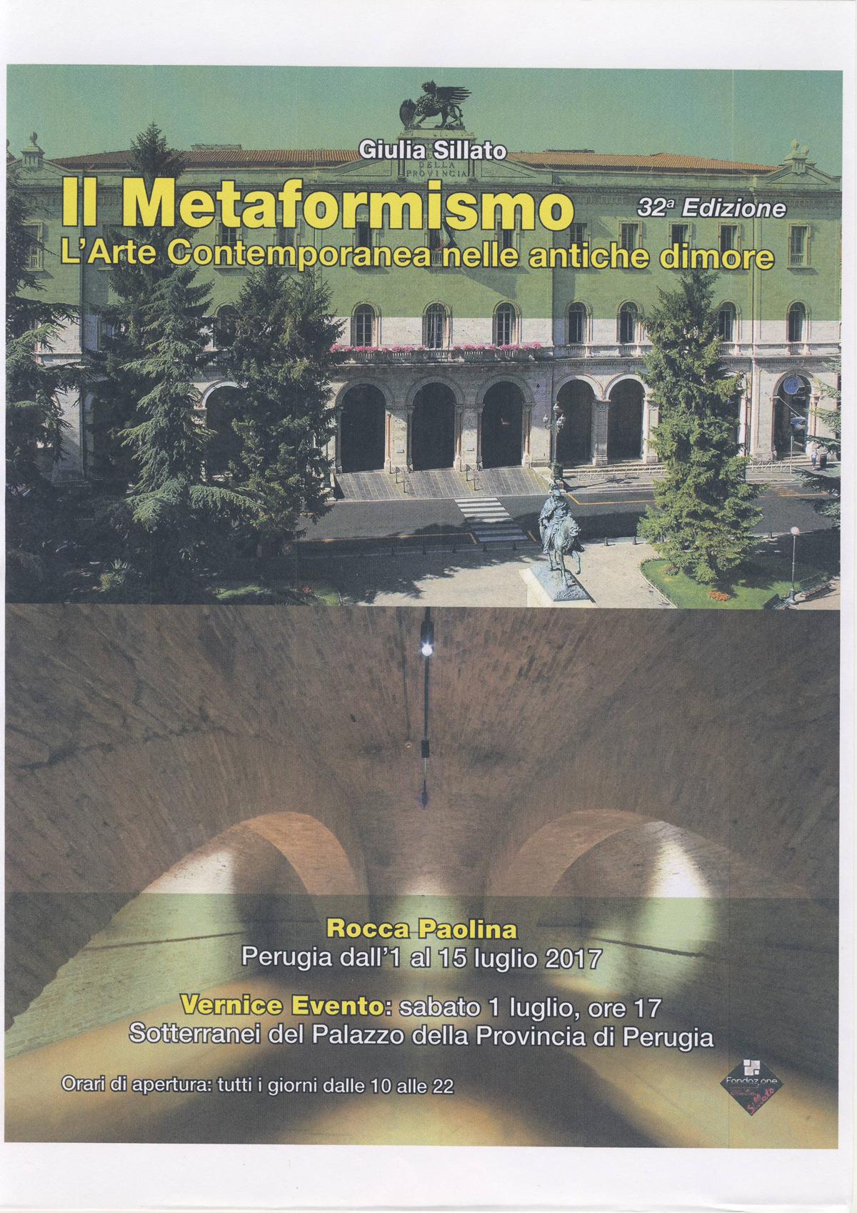 Metaformismo-L'Arte nelle antiche dimore- Perugia-Italia (2017)