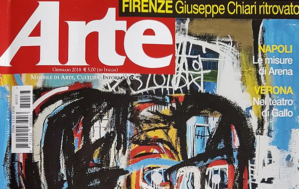 """Rassegna stampa su """"ARTE""""- (gen-2018)"""